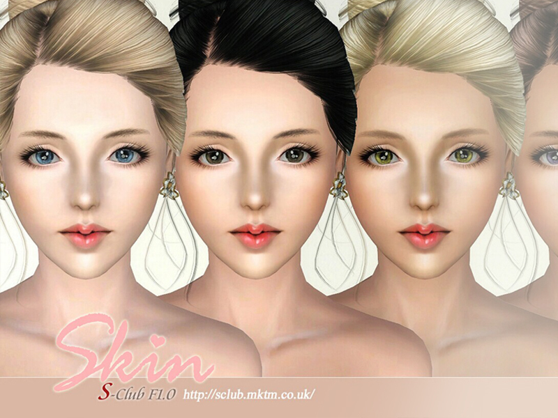 The sims 3 skin tone free download.